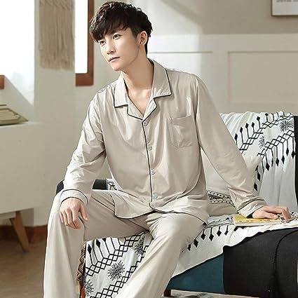 JFCDB Pijama,Conjunto de Pijama para Hombres Ropa de Dormir ...
