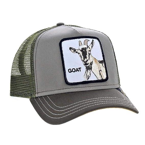 55d8b6c512e Goorin Bros. Goat Beard Trucker Cap - Olive: Amazon.co.uk: Clothing