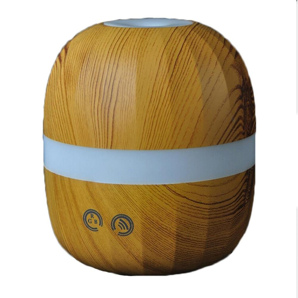 Aroma Humidifier USB Wood Grain Essential Oil Expansion Instrument Air Purification Home Office Holiday Gifts , light wood grain