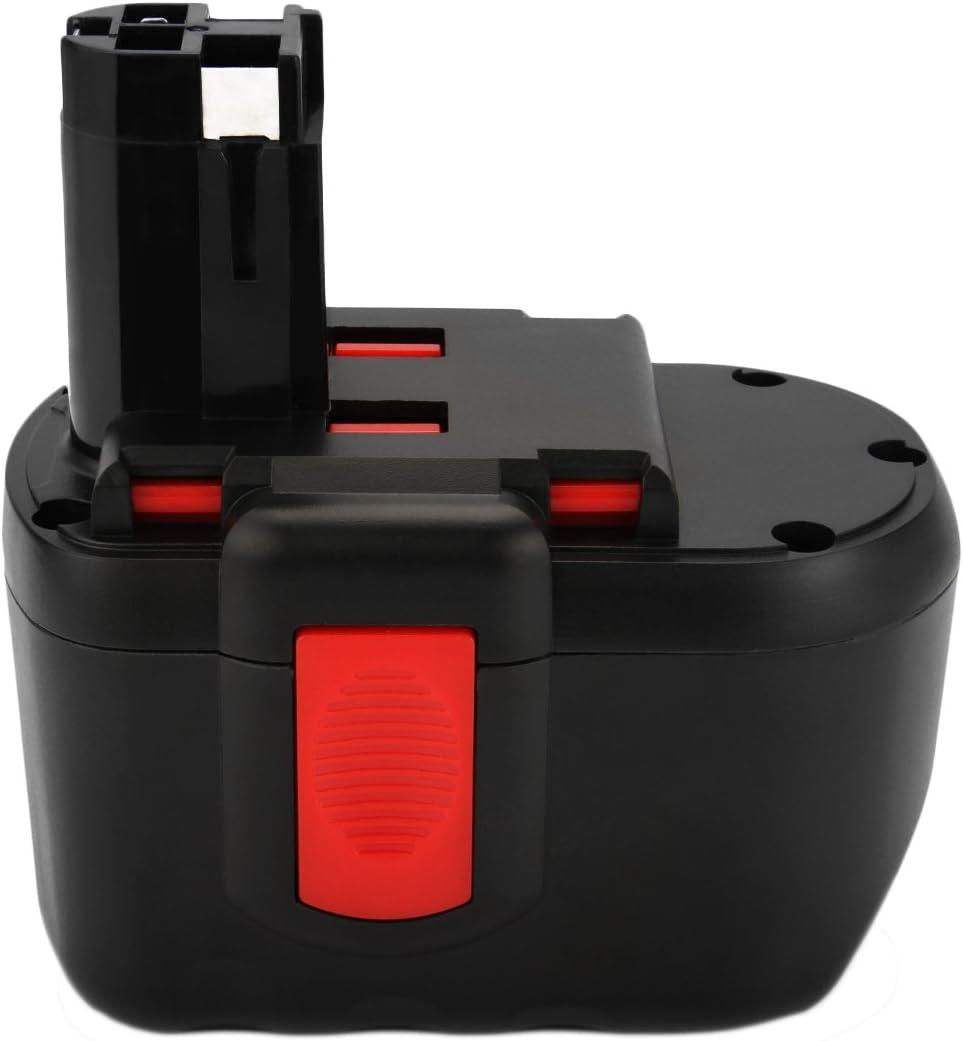 Joiry Ni-MH 24V 3500mAh Batería para Bosch BAT030, BAT031, BAT240, BAT299, BH-2424, BTP1005, GLI24V, GMC24V, GSR 24VE-2, GBH24VF, GSA24V Rechargeable Power Tool/Cordless Drill Batería Pack
