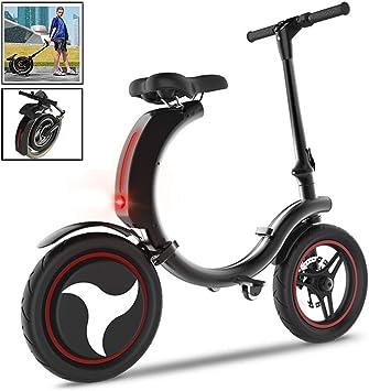 MEYLEE Scooter eléctrico Plegable, Mini Bicicleta eléctrica ...