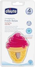 Chicco Fresh Relax Mordedores Para Bebé Con Diseño De Helado