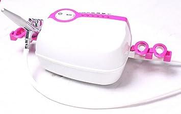 Amazon.com: Aerógrafo de maquillaje portátil Mini compresor ...
