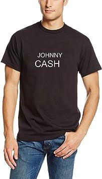 Camisetas Hombre Verano Camisas Camiseta Vintage con Estampado de Letras Country para Hombre(Can Custom-Made Pattern) (Color : Negro, Size : 2XL): Amazon.es: Equipaje