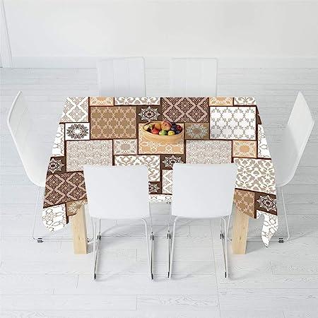 Mantel Estampado, árabe, para Mesa Rectangular, Cocina, Comedor ...