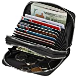 Kinzd Accordion Wallet RFID Leather Card Wallet for Women Credit Card Holder Reviews (Free Shipping Available)