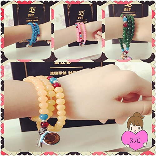 1 ml half pack clay beads bracelet oil bottle glass vials perfume necklace pendant Bracelet