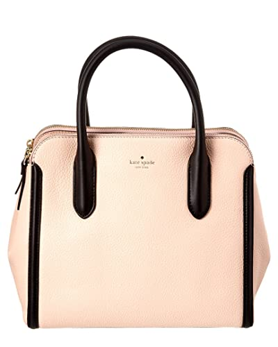 093c86c0be7c Amazon.com  Kate Spade New York Caroline Lane Duncan Dual Handled Satchel  (Soft Rose Black)  Shoes