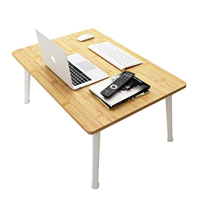 Folding Laptop Stand Computer Breakfast Lap Tray Bed Desk Outdoor Table Fold Leg