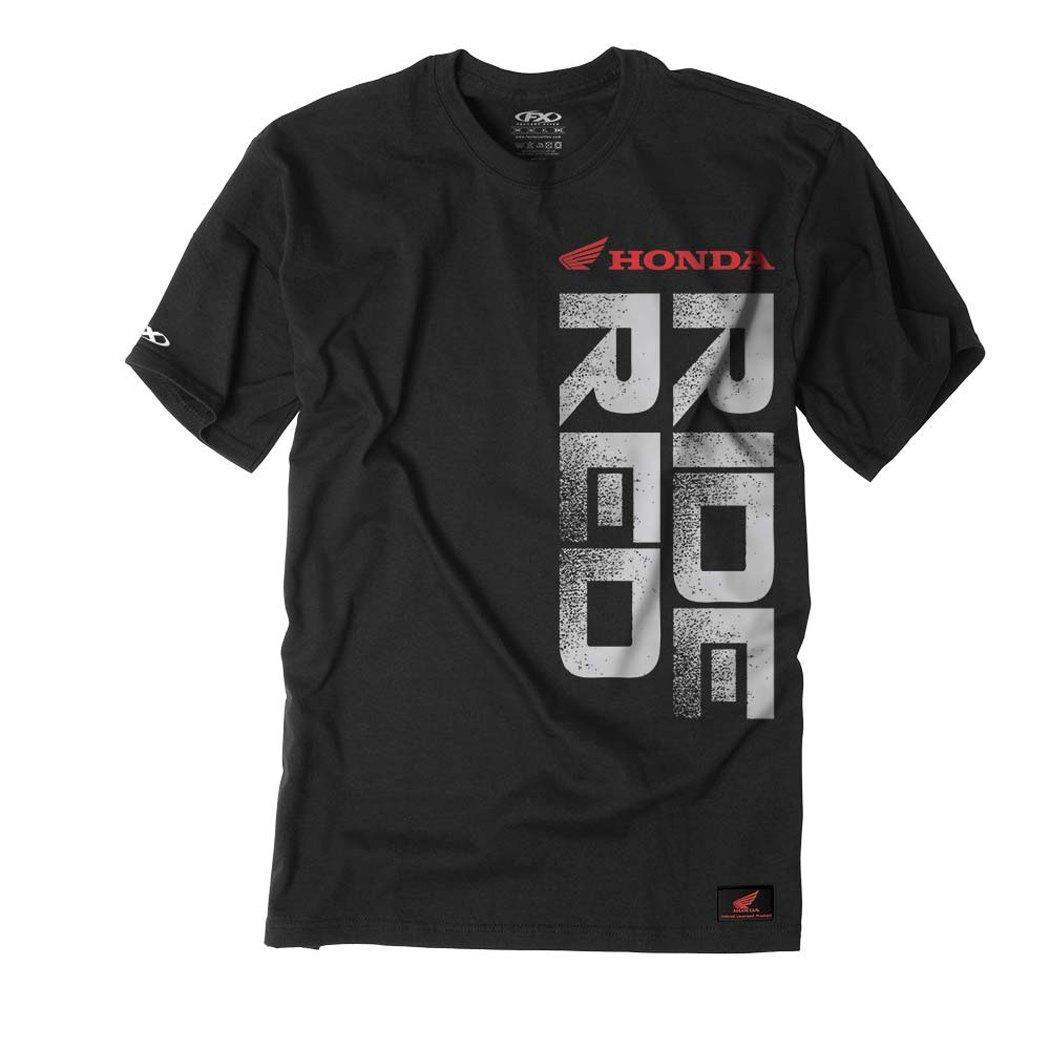 Factory Effex 16-88316 Honda 'Ride Red' Vert T-Shirt (Black, XX-Large) by Factory Effex