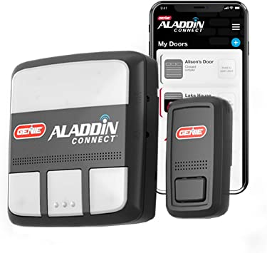 Genie Aladdin Connect Smartphone Garage Door Opener Monitor Open Close Your Garage Door From Anywhere Using Your Iphone Or Android Device Tools Home Improvement Amazon Canada