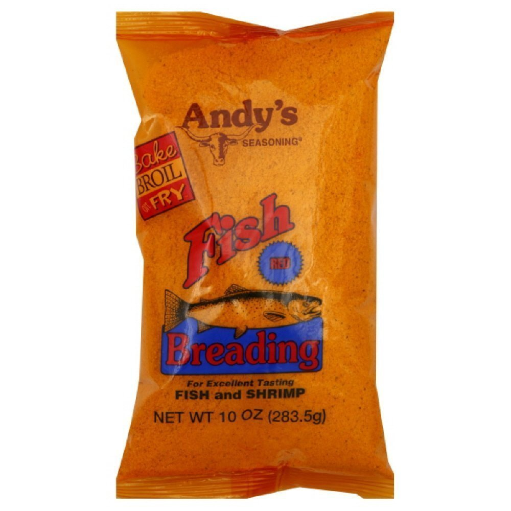 Andy's Fish Breading Red 10 Oz(Pack of 2)
