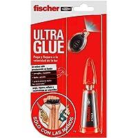 Fischer 548829 - Adhesivo, Transparente, 4 gr
