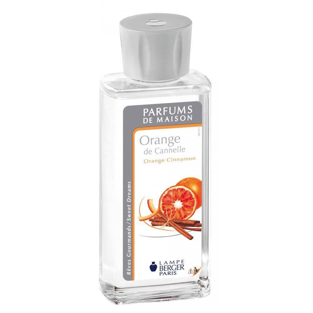 Lampe Berger Orange Cinnamon Home Fragrance, Argento, 15 x 16.5 x 19 3127290220189
