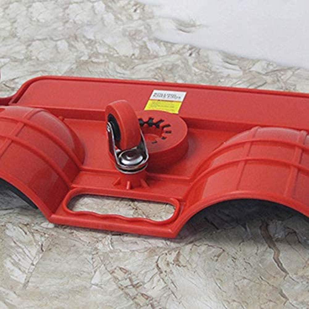LOISK Knieschoner mit Rollen Knieschutz 350 kg Kapazit/ät 5 Lenkrollen mit Drehgelenk Werkzeughalter gepolstert
