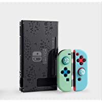 Nintendo Switch Protective Case Animal Crossing Theme Perfectly Match Support TV Model Anti-Collision