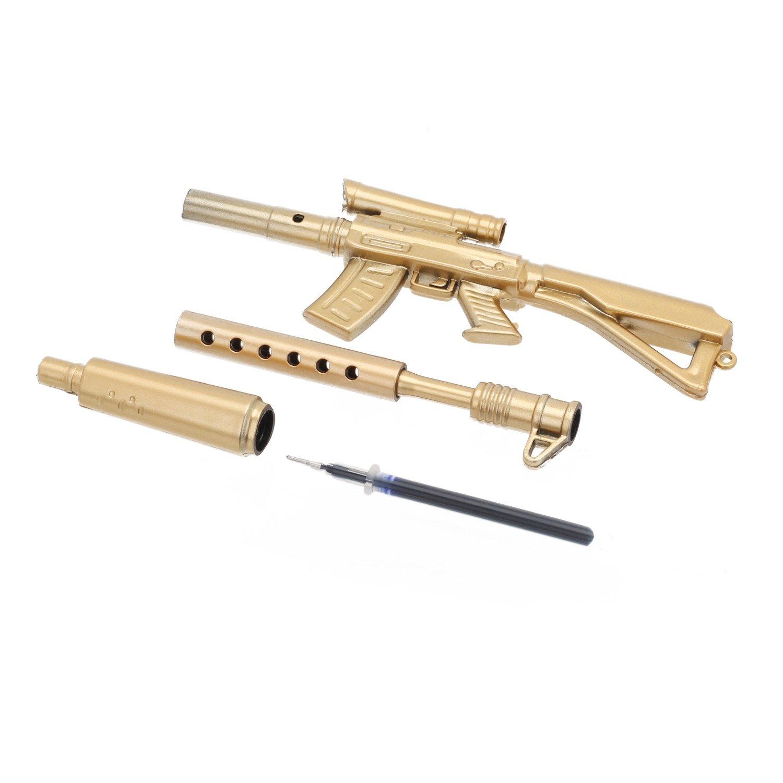 4Pcs Neuheit-Briefpapier-Gewehr-Form-Kugelschreiber für Kinder