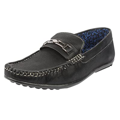 Digni Men's Faux Leather Casual & Party Wear Classic Loafer-Choose Size