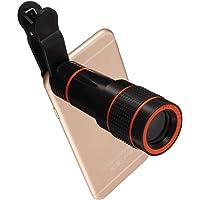 Rextan 12X Universal Optical Zoom Lens Telescope Clip-on Camera Lens