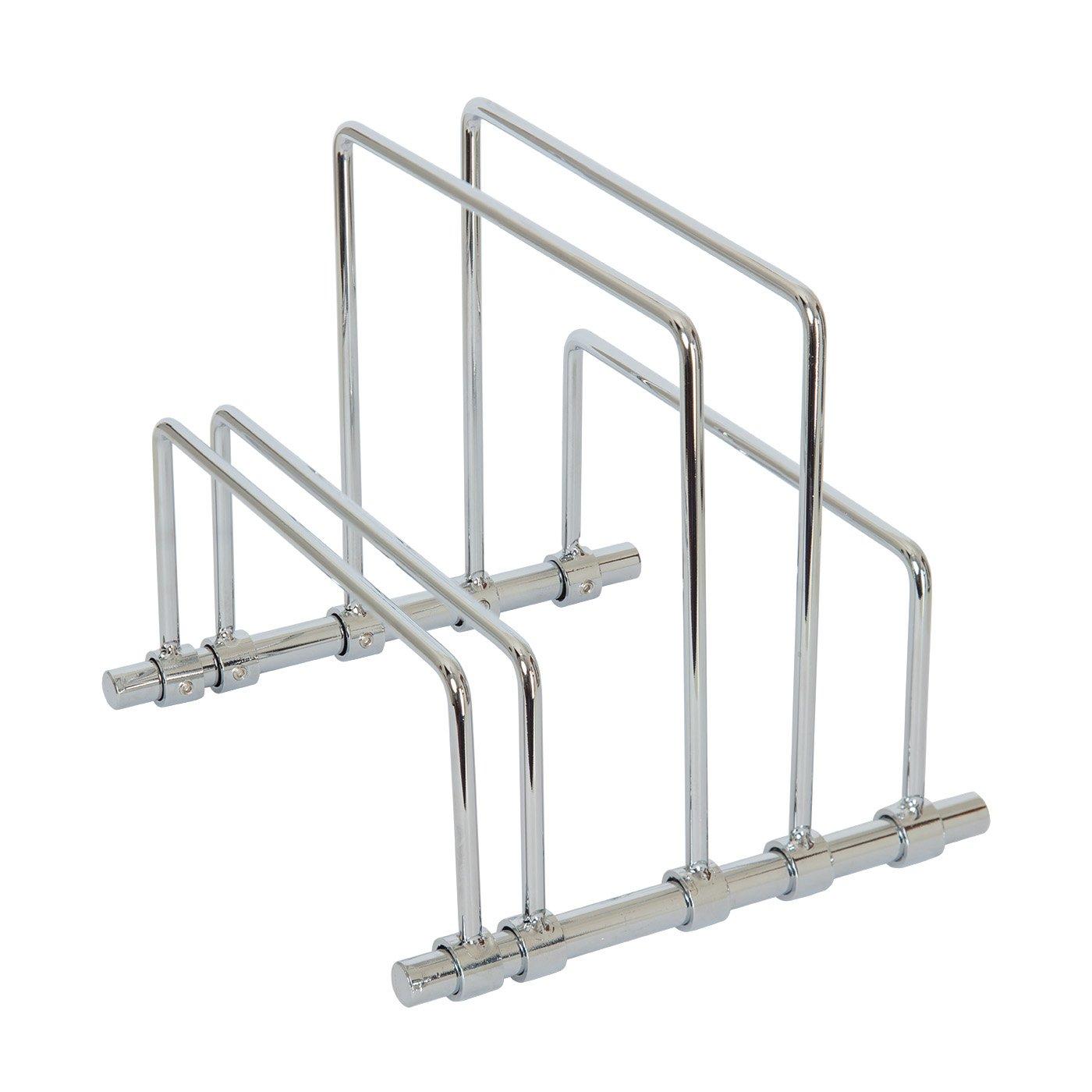 Rack para cocina en acero inoxidable SbS, rack para tablas de cortar y bandejas, 5 rack incluidos para crear 4 compartimentos: Amazon.es: Hogar