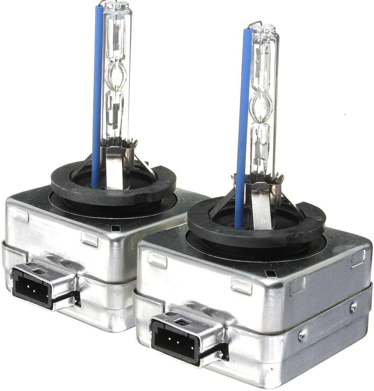 AUDEW 2x 35W D1S//D1C HID Xenon Brenner Scheinwerferlampe Ersatzlampen Auto Lampe Licht Birnen Scheinwerfer 8000K