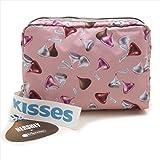 LeSportsac レスポートサック ポーチ 7121 EXTRA LARGE RECTANGULAR COSMETIC G413 HERSHEYS KISSES [並行輸入品]