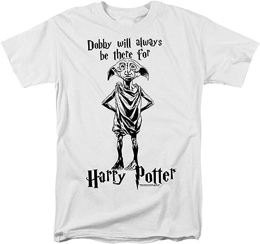 Harry Potter Dobby is A Free Elf Unisex T-Shirt Mottled Grey,