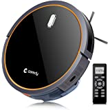 Robot Vacuum Cleaner, Coredy Robotic Vacuum with Mop and Water Tank, High Suction Vacuuming to Medium-Pile Carpets, Wet/Dry Mopping Hard Floor, Filter for Pet, Self-Charging, Daily Schedule Cleaning