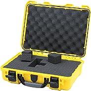 Nanuk 910 Waterproof Hard Case Empty - Tan - Made in Canada