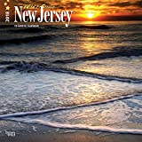 New Jersey, Wild & Scenic 2018 12 x 12 Inch Monthly Square Wall Calendar, USA United States of America Northeast State Nature