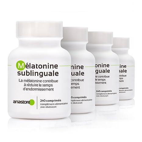 MELATONINA SUBLINGUAL * OFERTA 3+1 GRATIS * Pureza garantizada superior al 99% * 1.8 mg / 480 dosis * Estevia (Aroma limón) * Regulador del reloj ...
