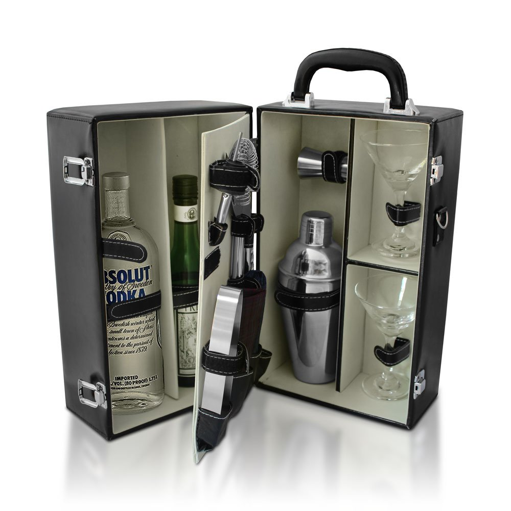 De Lux Cosmopolitan Travel Cocktail Set, Booze Box by De Lux Cosmopolitan (Image #2)