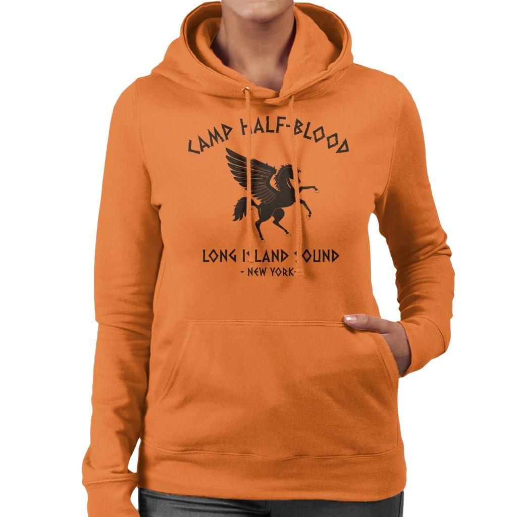 Cloud City 7 Percy Jackson Camp Half Blood Womens Hooded Sweatshirt