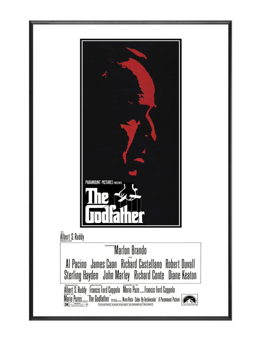 BaikalGallery Cartel Enmarcado EL Padrino (The Godfather, 1972 ...