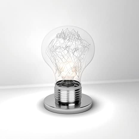 Lámpara de Mesa LAMPA Lumetto forma Bombillas Cristal ...
