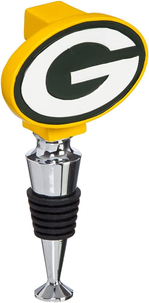 Team Sports America NFL Hand-Painted Team Logo Bottle Stopper