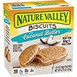 NATURE VALLEY Biscuit Coconut Butter, 5 Count, 190 Grams