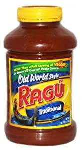 Ragu, Pasta Sauces, 45oz Container (Pack of 2) (Choose Flavors Below) (Old World Style)