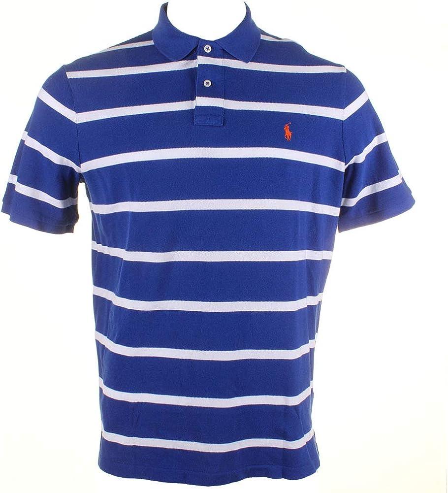 Ralph Lauren Mens Classic Fit Mesh Rugby Polo Shirt