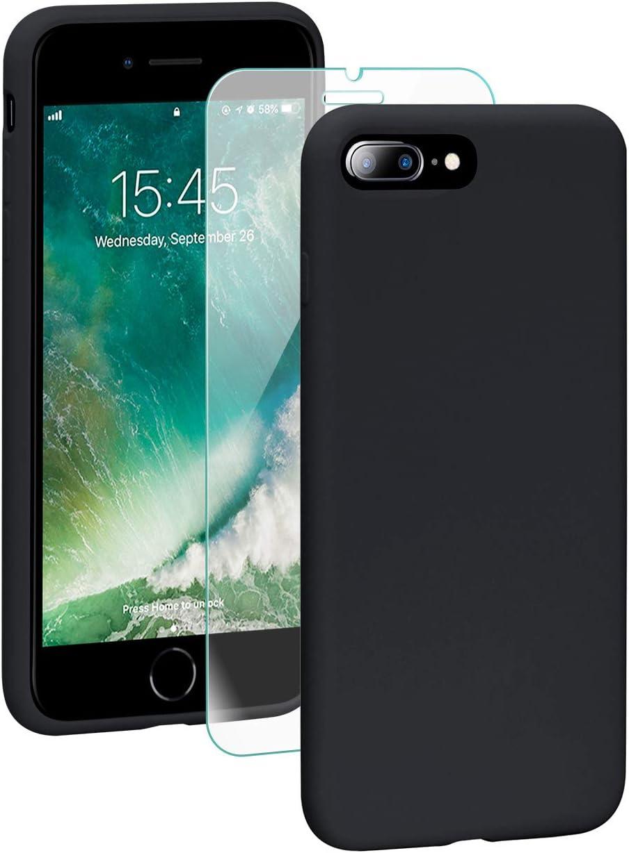 SmartDevil Cover iPhone 7[Libero Pellicola Vetro Temperato