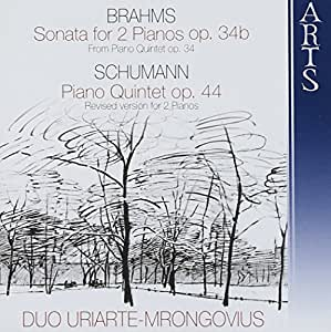 Brahms: Sonata for 2 pianos; Schumann: Piano Quintet