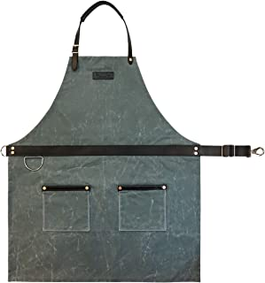 product image for Rugged Apron - Waxed Canvas - Charcoal - Made in USA