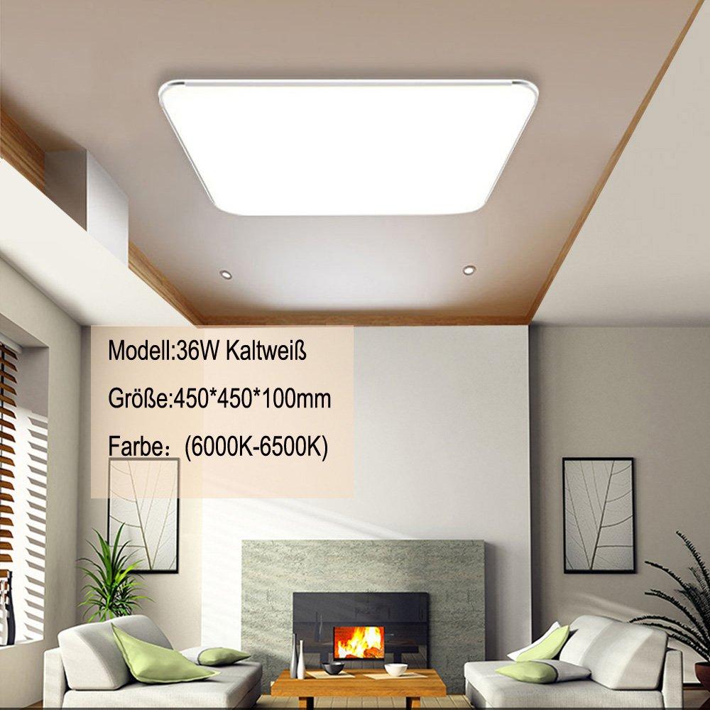 SZYSD LED Panel Deckenleuchte Badleuchte Deckenlampe Deckenlampe ...