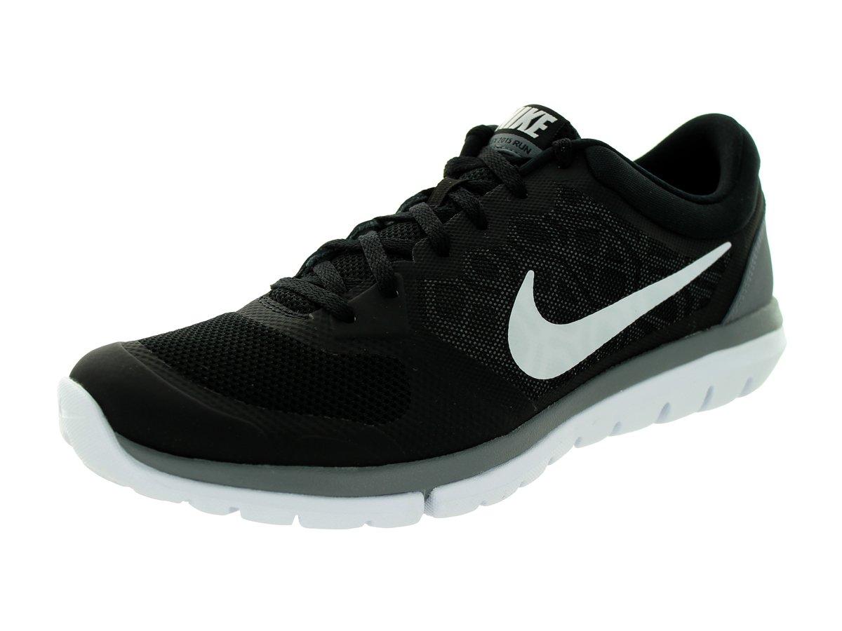 NIKE Men's Flex 2014 RN Running Shoe B00K7I0JBA 8.5 D(M) US|Black/Cool Grey/White