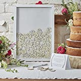 Wedding Guest Book Ideas Wedding Games Frame & 70 Write on Hearts