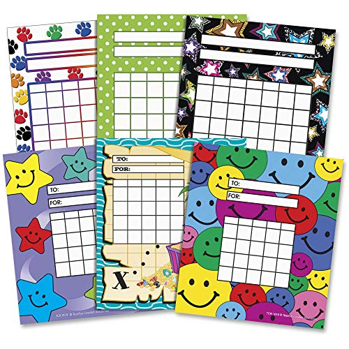 (Teacher Created Resources - Individual Incentive Charts, 5-1/4 x 6, 216/Pack - Sold As 1 Pack, Assorted)