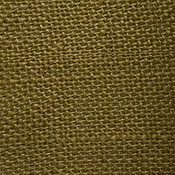 Image of 43' By The Yard 100% Jute Crafting Burlap Fabric Natural Eco-Friendly Solid Pattern Upholstery Drape Home Decor Home and Kitchen