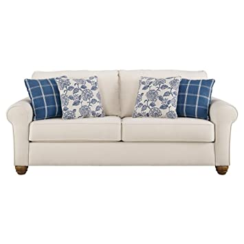 Fine Amazon Com Benchcraft Adderbury Casual Sofa Sleeper Caraccident5 Cool Chair Designs And Ideas Caraccident5Info