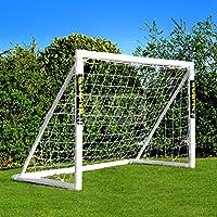 FORZA - 1,8 x 1,2 m wetterfestes Fußballtor, 1 Jahr Garantie [Net World Sports]