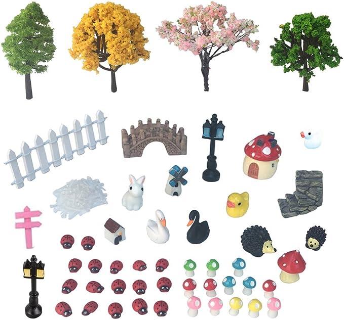 Details about  /Miniature Fairy Garden Ornament Decor Pot DIY Craft Accessories Dollhouse Newly